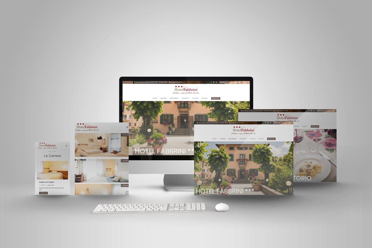 Hotel Fabbrini · Sito-web